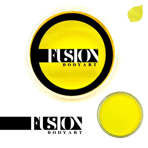 Fusion Body Art Face Paint Prime Bright Yellow