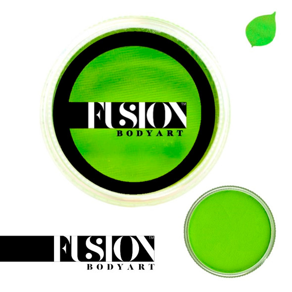 Fusion Body Art Face Paint Prime Lime Green