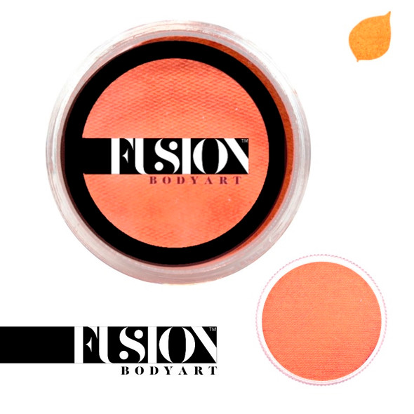 Fusion Body Art Pearl Orange Face Paint