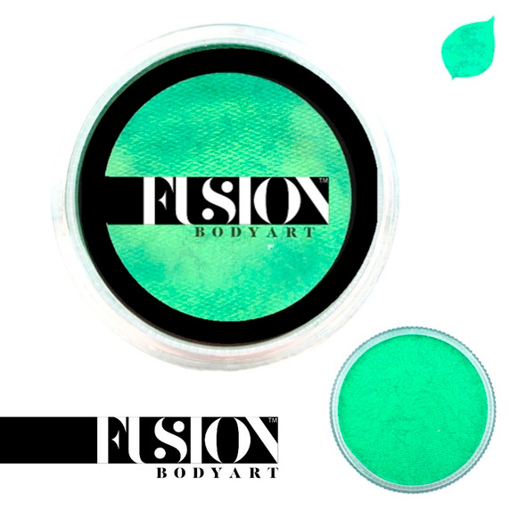 PEARL MINT GREEN green by Fusion Body Art face paint 25g