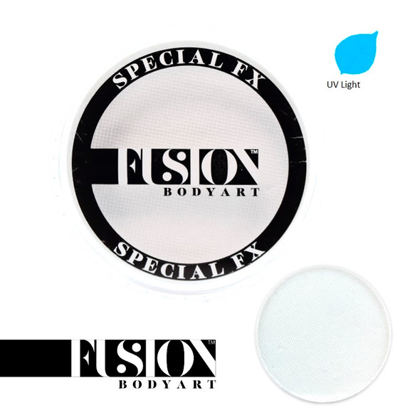 FX UV NEON WHITE by Fusion Body Art face paint 32g