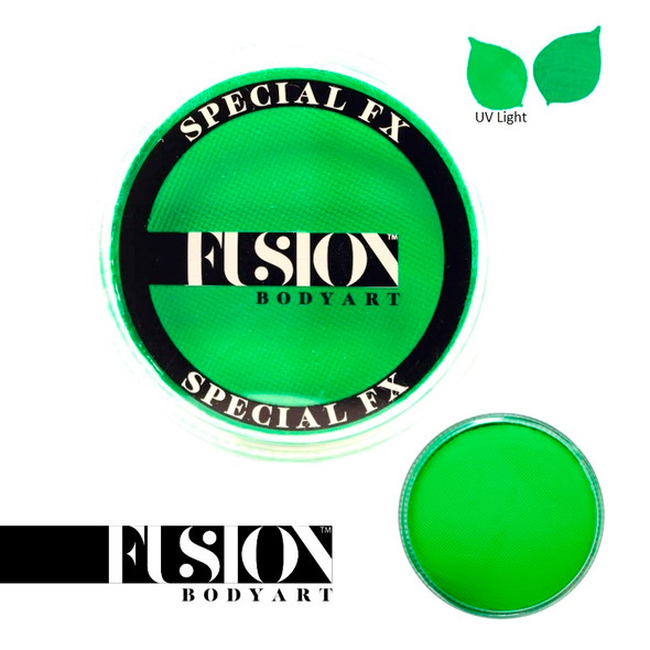 FX UV NEON GREEN by Fusion Body Art face paint 32g