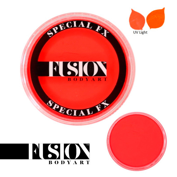 Fusion Face and Body Paint Neon Orange