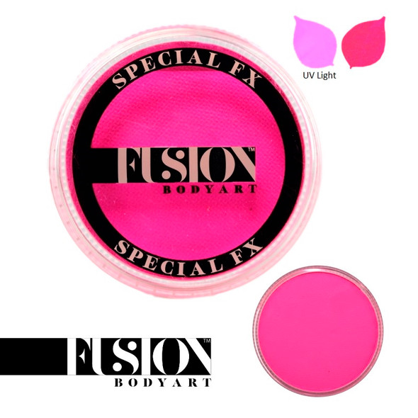 Fusion Face and Body Paint Neon Magenta