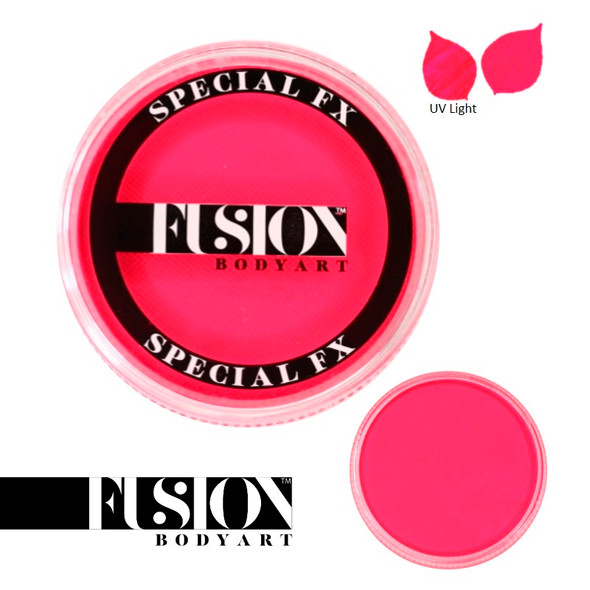 FX UV NEON PINK by Fusion Body Art face paint 32g