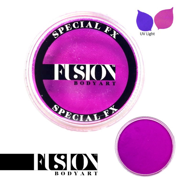 FX UV NEON VIOLET by Fusion Body Art face paint 32g