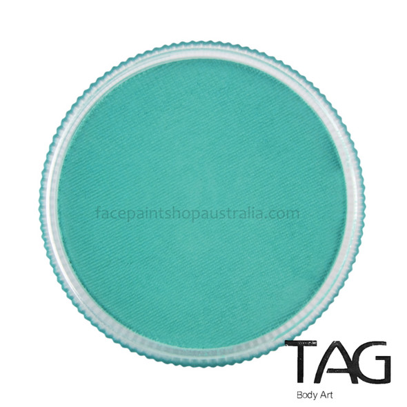 TAG Body Art face paint teal