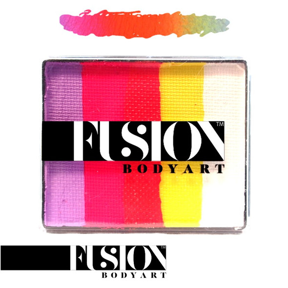CARIBBEAN SUNSET by Fusion Body Art face paint 50g