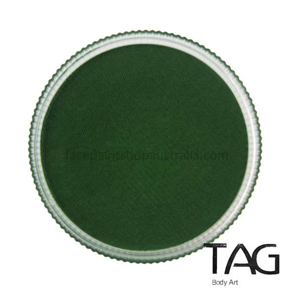 GREEN Face and Body Paint 32g by TAG Body Art