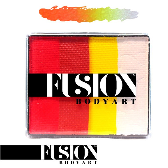 FX GLOWING TIGER by Fusion Body Art face paint 50g
