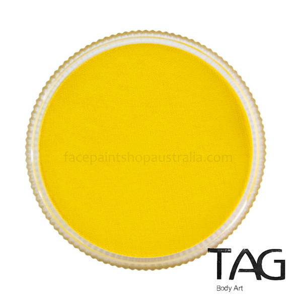 YELLOW Face and Body Paint 32g by TAG Body Art