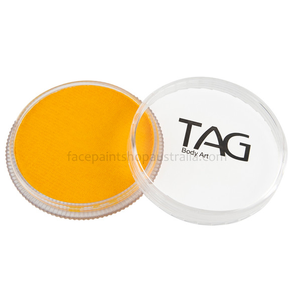 TAG Body Art face paint golden orange
