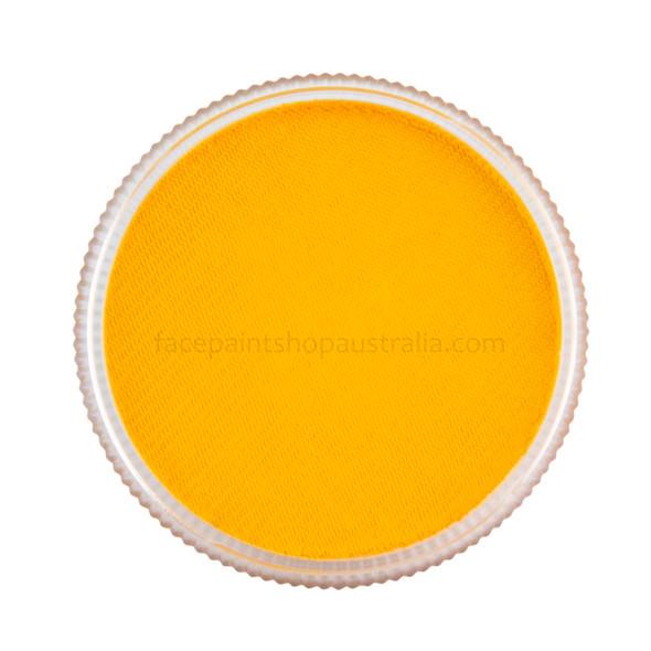 TAG Body Art face paint golden orange