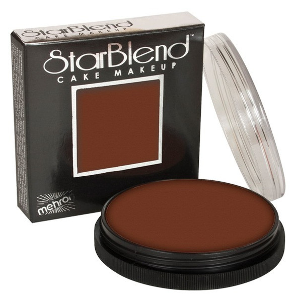 SABLE BROWN Starblend Powder by Mehron Cake Makeup 56g