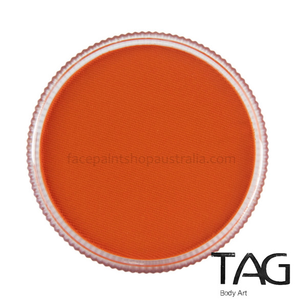ORANGE Face and Body Paint 32g by TAG Body Art