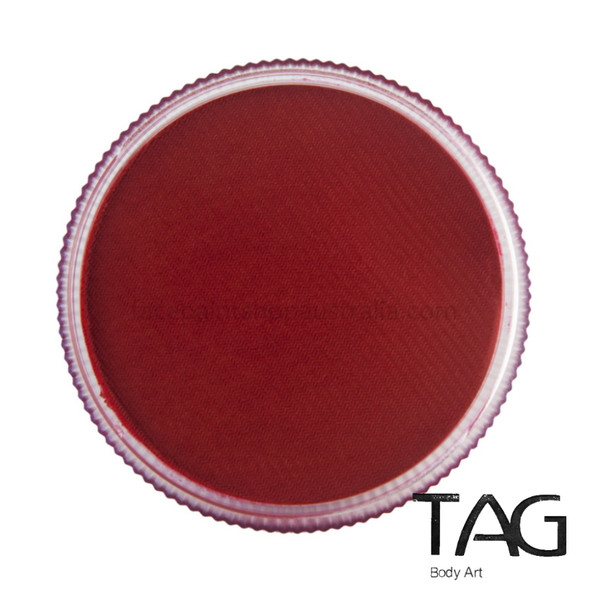 RED Face and Body Paint 32g by TAG Body Art