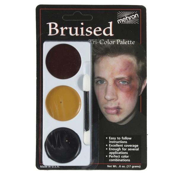 Tri-Colour Bruise Makeup Palette Mehron