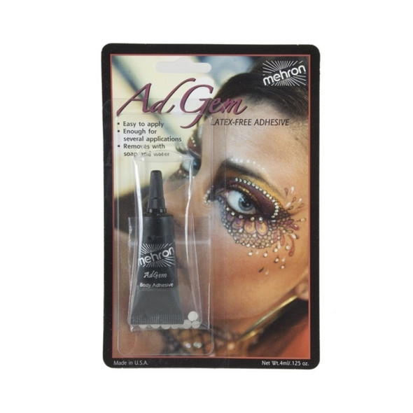 AdGem Latex-Free Adhesive with Rhinestones 3.5g