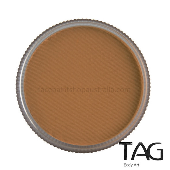 REGULAR MID BROWN face and body paint by TAG