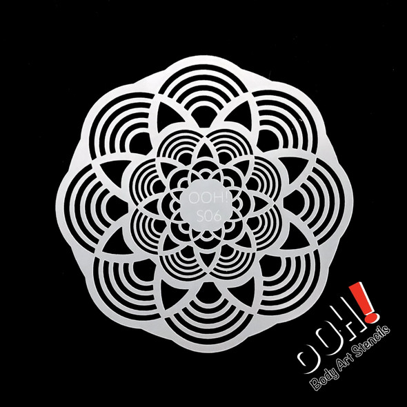 Mandala Pattern Stencil by Ooh! Stencils S06