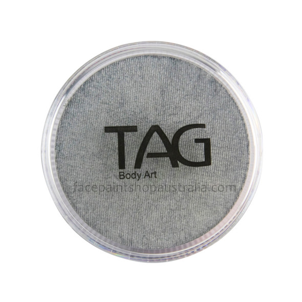 TAG Body Art Face Paint Pearl silver