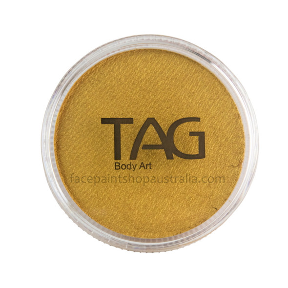 TAG Body Art Face Paint Pearl gold