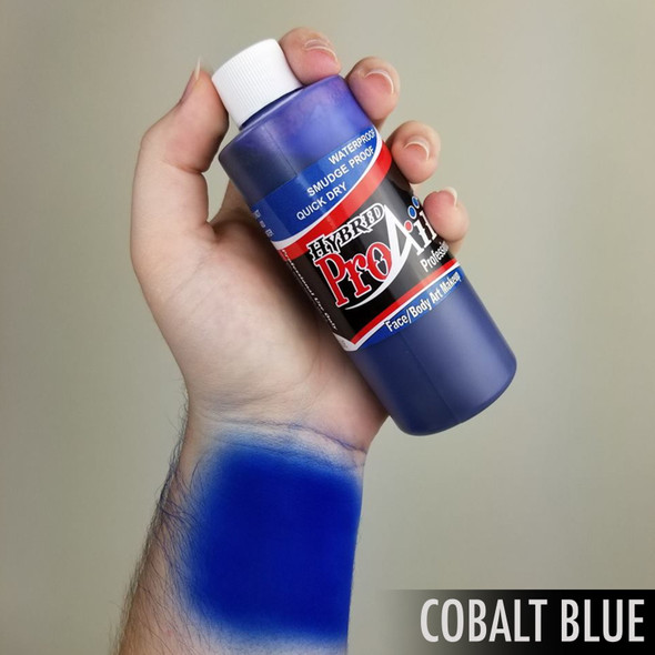 COBALT BLUE ProAiir Hybrid Waterproof Liquid Face and Body Paint for Airbrush