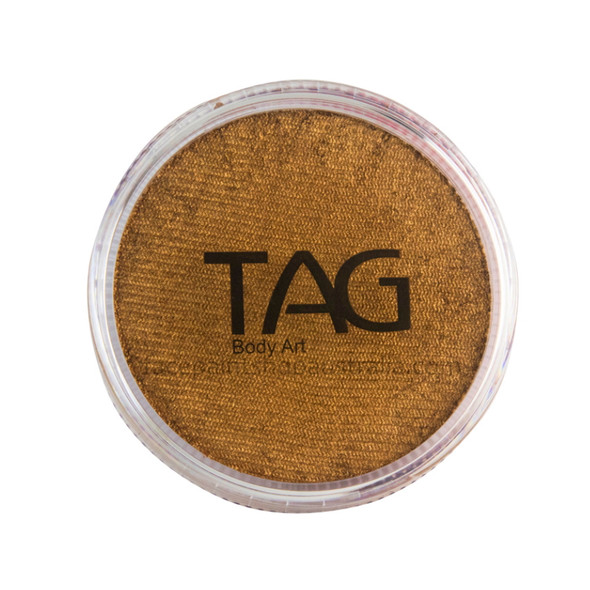 TAG Body Art Face Paint Pearl old gold