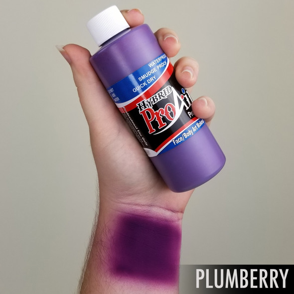 PLUM BERRY ProAiir Hybrid Waterproof Liquid Face and Body Paint for Airbrush