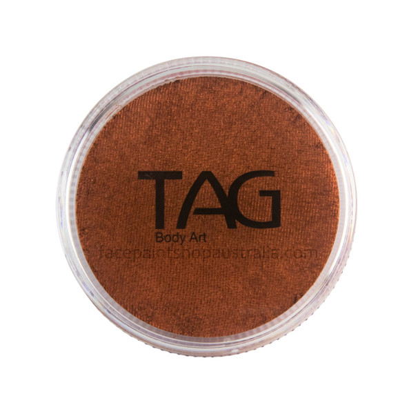 TAG Body Art Face Paint Pearl copper