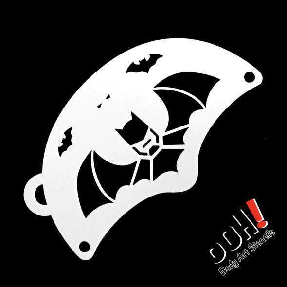 BATMAN Face Paint Stencil by Ooh! Stencils K03