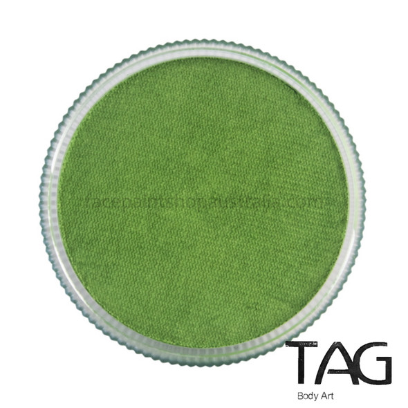 TAG Body Art Face Paint Pearl lime green
