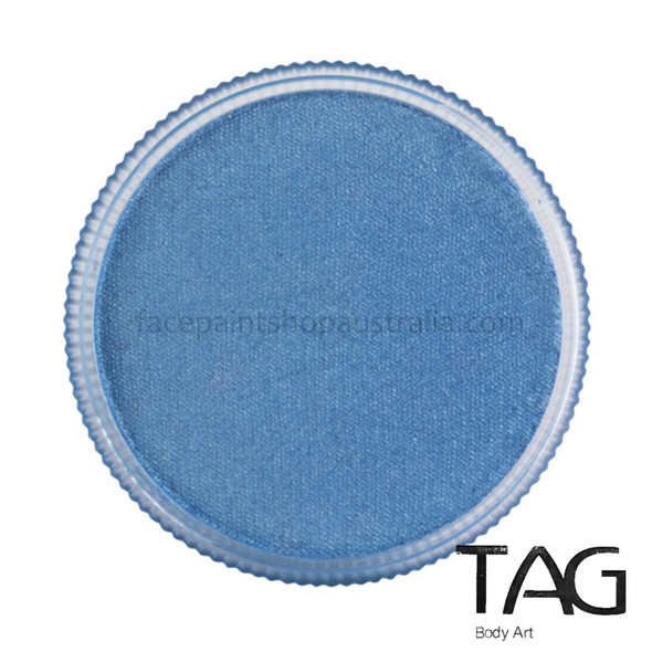 TAG Body Art Face Paint Pearl sky blue