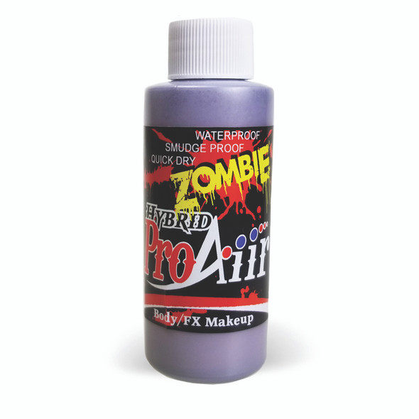 BRUISE 'ZOMBIE' ProAiir Hybrid Waterproof Liquid Face and Body Paint for Airbrush