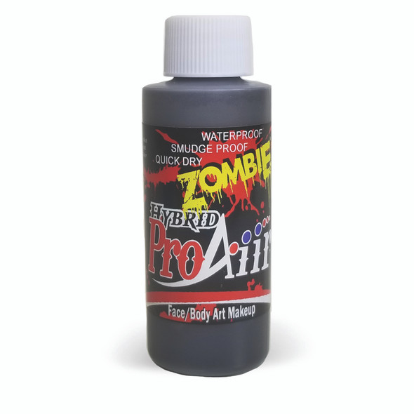DIRT 'ZOMBIE' ProAiir Hybrid Waterproof Liquid Face and Body Paint for Airbrush