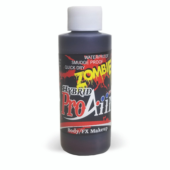 OLD BLOOD 'ZOMBIE' ProAiir Hybrid Waterproof Liquid Face and Body Paint for Airbrush
