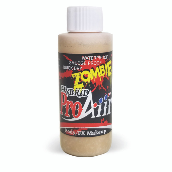 PALE DEAD 'ZOMBIE' ProAiir Hybrid Waterproof Liquid Face and Body Paint for Airbrush