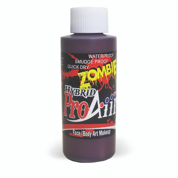 ROAD RASH RED 'ZOMBIE' ProAiir Hybrid Waterproof Liquid Face and Body Paint for Airbrush