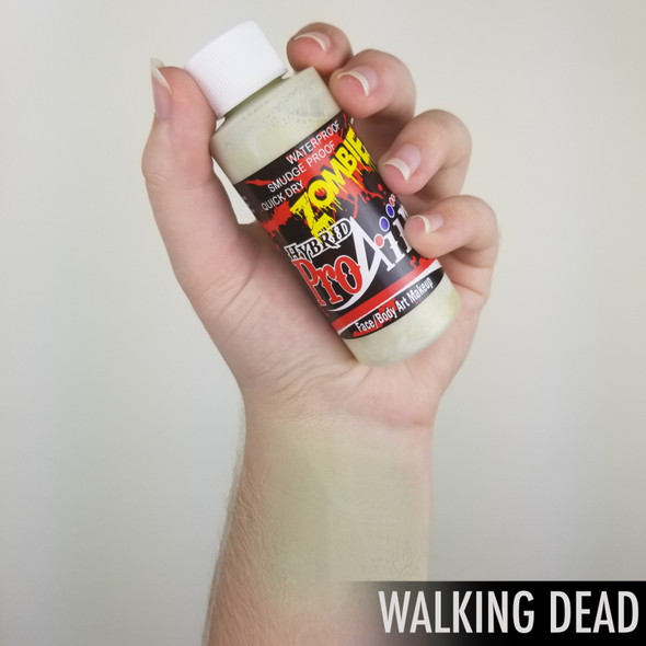WALKING DEAD 'ZOMBIE' ProAiir Hybrid 60ml Waterproof Liquid Face and Body Paint for Airbrush