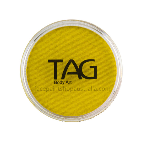 TAG Body Art Face Paint Pearl Yellow