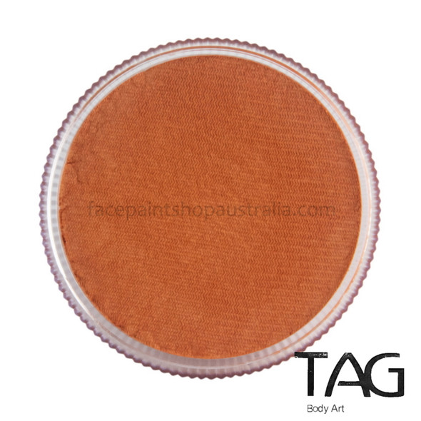 TAG Body Art Face Paint Pearl Orange