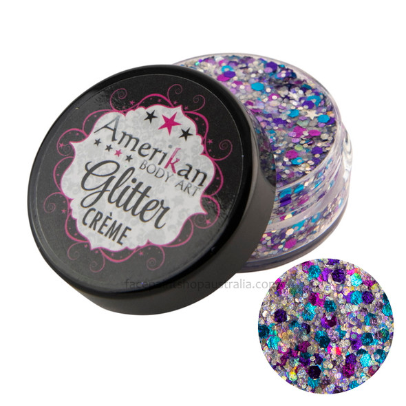 Galaxy Glitter Creme by Amerikan Body Art