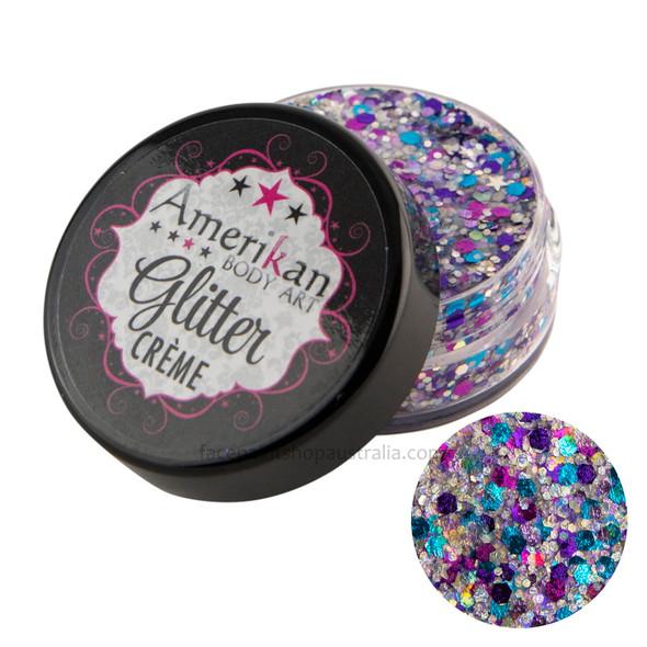 Galaxy Glitter Creme by Amerikan Body Art 10g