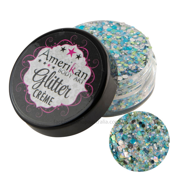 Pisces Glitter Creme by Amerikan Body Art