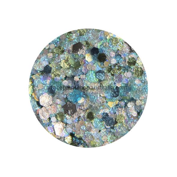 Pisces Glitter Creme by Amerikan Body Art 10g