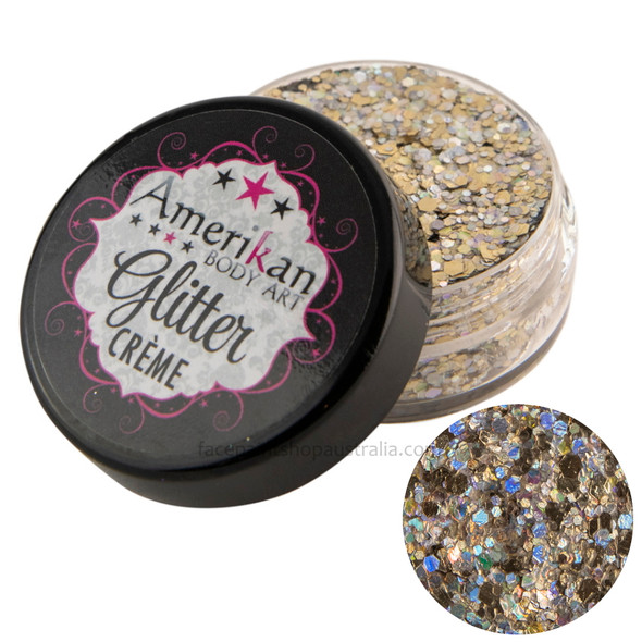 amerikan body art glitter creme asteroid