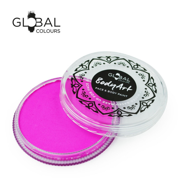 CANDY PINK Face and Body Paint Makeup by Global Colours 32g