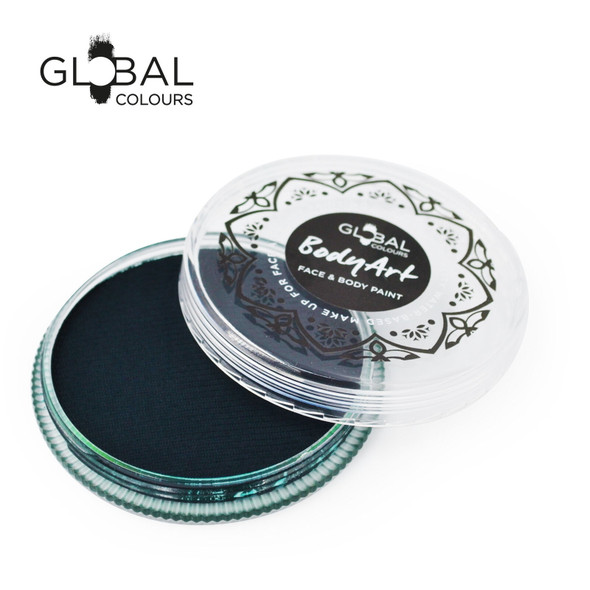 DEEP GREEN Face and Body Paint Makeup by Global Colours 32g