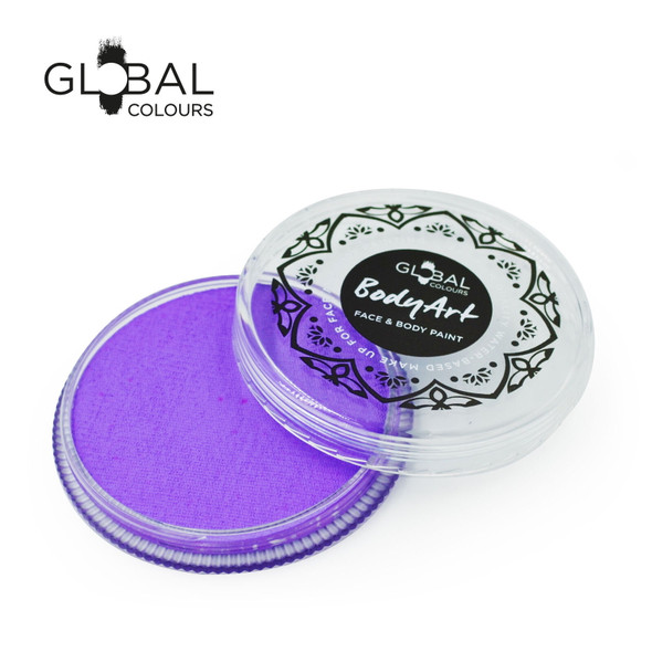 LILAC Face and Body Paint Makeup by Global Colours 32g