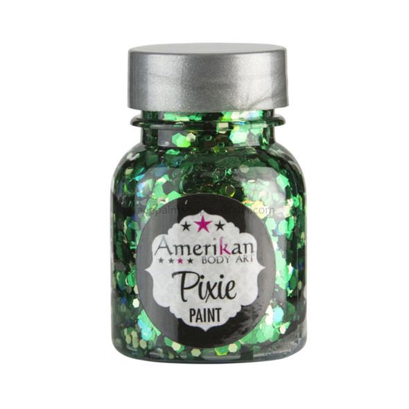 'Absinthe Green' Pixie Paint Glitter Gel by Amerikan Body Art